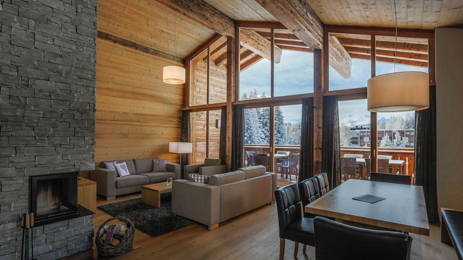 6 personen chalet luxus 6l in landal alpine lodge lenzerheide. Black Bedroom Furniture Sets. Home Design Ideas